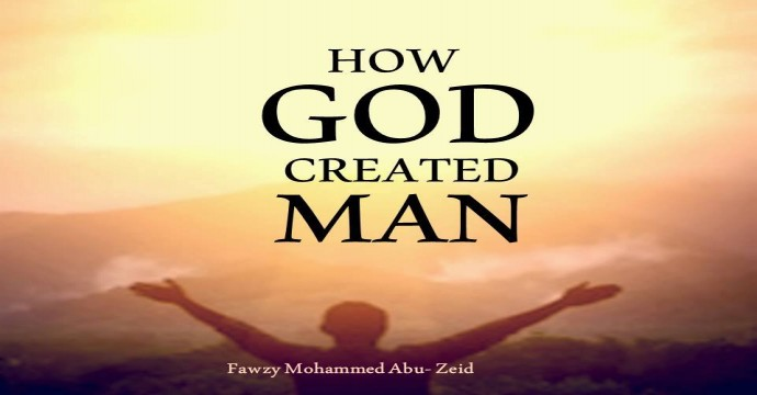 How did God create man?