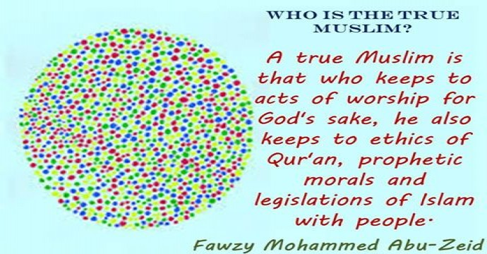 2- true Muslim