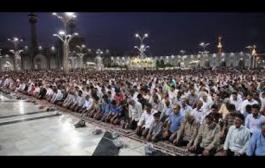 صلاة الإمام الفرض وسنة القيام والتهجد