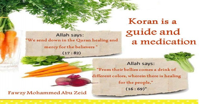 Qur'an, a guide and medication
