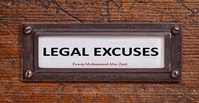 Legitimate (legal) excuses