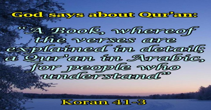THE LANGUAGE OF KORAN