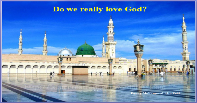 Do we really love God?