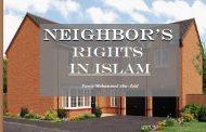 Neighbor's rights in Islam