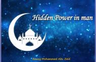 Hidden power in man