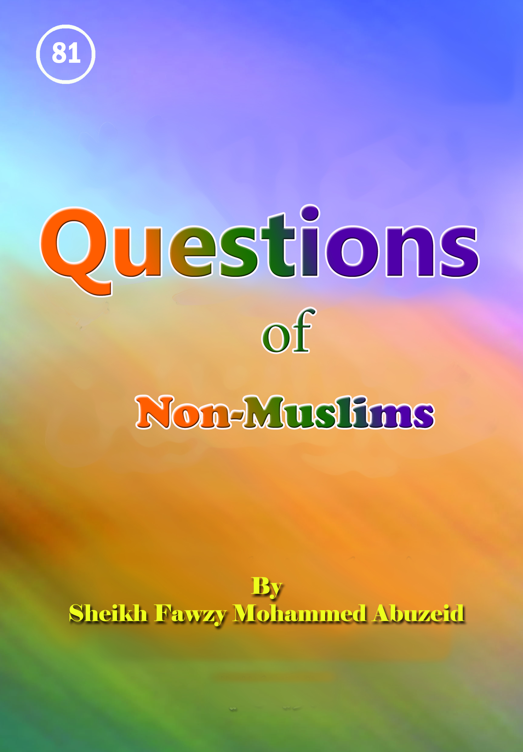 Questions of Non-Muslim